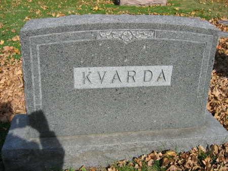 KVARDA, FAMILY STONE - Linn County, Iowa | FAMILY STONE KVARDA