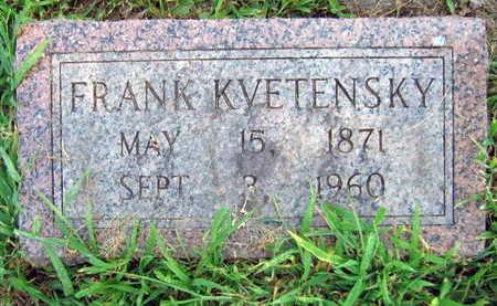 KVETENSKY, FRANK - Linn County, Iowa   FRANK KVETENSKY
