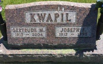 KWAPIL, JOSEPH F - Linn County, Iowa | JOSEPH F KWAPIL