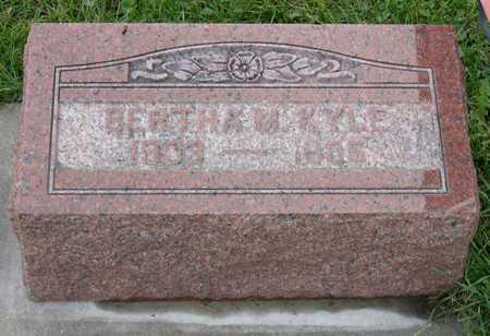 KYLE, BERTHA M. - Linn County, Iowa | BERTHA M. KYLE