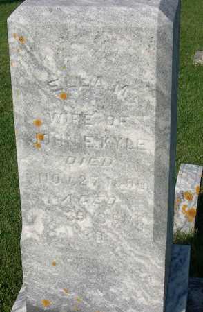 KYLE, ELLA M. - Linn County, Iowa   ELLA M. KYLE