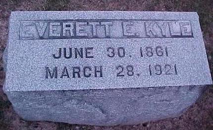 KYLE, EVERETT E. - Linn County, Iowa | EVERETT E. KYLE