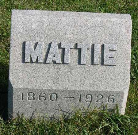 KYLE, MATTIE - Linn County, Iowa | MATTIE KYLE