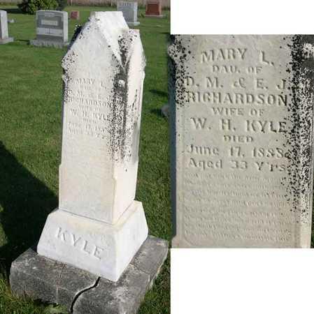 RICHARDSON KYLE, MARY L. - Linn County, Iowa | MARY L. RICHARDSON KYLE