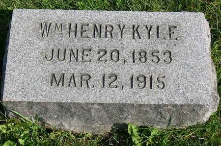KYLE, WM. HENRY - Linn County, Iowa | WM. HENRY KYLE