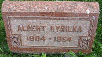 KYSILKA, ALBERT - Linn County, Iowa | ALBERT KYSILKA