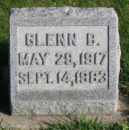 LACOCK, GLENN B. - Linn County, Iowa   GLENN B. LACOCK