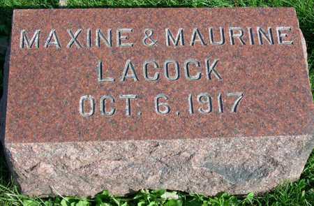 LACOCK, MAXINE - Linn County, Iowa | MAXINE LACOCK