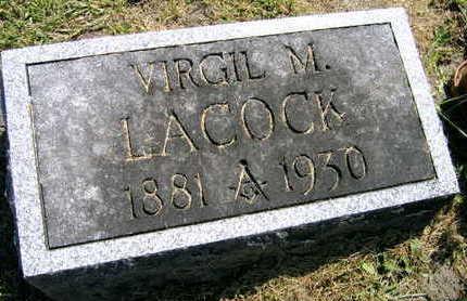 LACOCK, VIRGIL M. - Linn County, Iowa | VIRGIL M. LACOCK