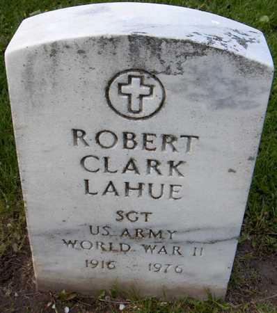 LAHUE, ROBERT CLARK - Linn County, Iowa   ROBERT CLARK LAHUE