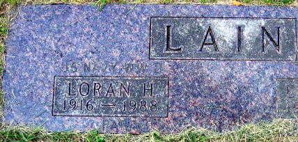LAIN, LORAN H. - Linn County, Iowa | LORAN H. LAIN