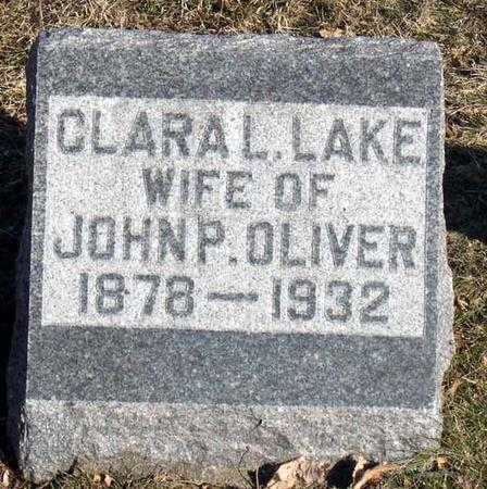 LAKE, CLARA L. - Linn County, Iowa | CLARA L. LAKE