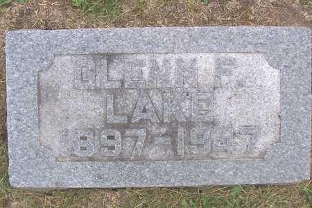LAKE, GLENN F. - Linn County, Iowa | GLENN F. LAKE