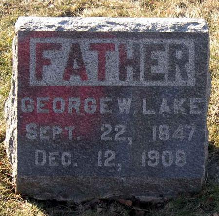 LAKE, GEORGE W. - Linn County, Iowa | GEORGE W. LAKE