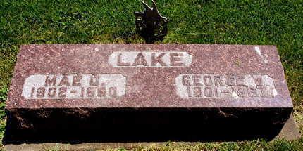 LAKE, MAE O. - Linn County, Iowa | MAE O. LAKE