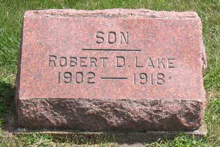 LAKE, ROBERT D. - Linn County, Iowa | ROBERT D. LAKE