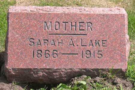 LAKE, SARAH A. - Linn County, Iowa   SARAH A. LAKE