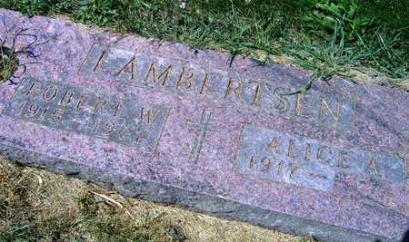 LAMBERTSEN, ROBERT W. - Linn County, Iowa | ROBERT W. LAMBERTSEN