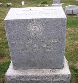 LAMSON, WILLIAM H. - Linn County, Iowa   WILLIAM H. LAMSON