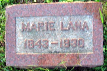 LANA, MARIE - Linn County, Iowa | MARIE LANA