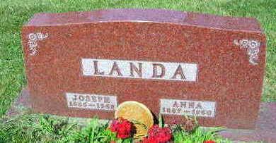 LANDA, ANNA - Linn County, Iowa | ANNA LANDA