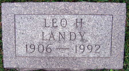 LANDY, LEO H. - Linn County, Iowa | LEO H. LANDY