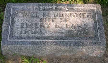 GONGWER LANE, ETHEL M. - Linn County, Iowa | ETHEL M. GONGWER LANE