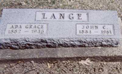 LANGE, ADA GRACE - Linn County, Iowa | ADA GRACE LANGE