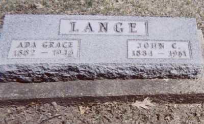 LANGE, JOHN C. - Linn County, Iowa | JOHN C. LANGE