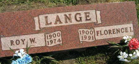 LANGE, ROY W. - Linn County, Iowa | ROY W. LANGE