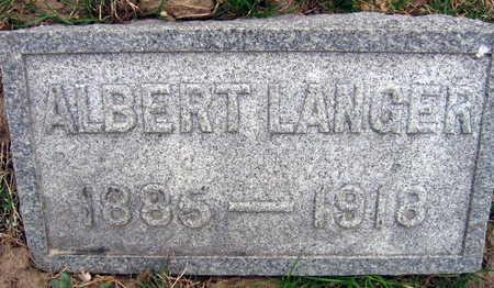 LANGER, ALBERT - Linn County, Iowa | ALBERT LANGER