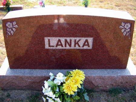 LANKA, FAMILY STONE  (LANKA BREJCHA) - Linn County, Iowa | FAMILY STONE  (LANKA BREJCHA) LANKA
