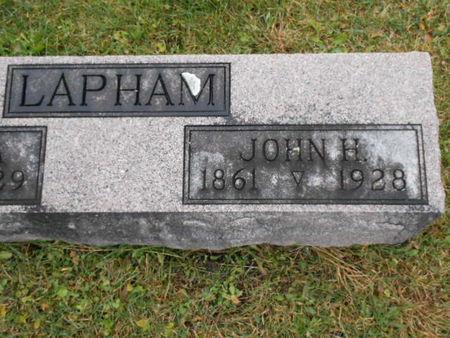 LAPHAM, JOHN H. - Linn County, Iowa | JOHN H. LAPHAM