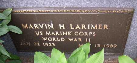 LARIMER, MARVIN H. - Linn County, Iowa   MARVIN H. LARIMER