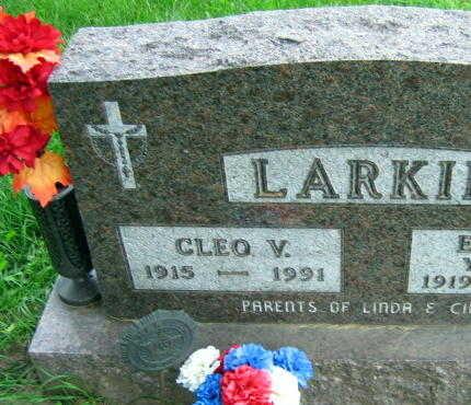 LARKIN, CLEO V. - Linn County, Iowa | CLEO V. LARKIN