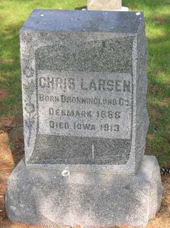 LARSEN, CHRIS - Linn County, Iowa | CHRIS LARSEN