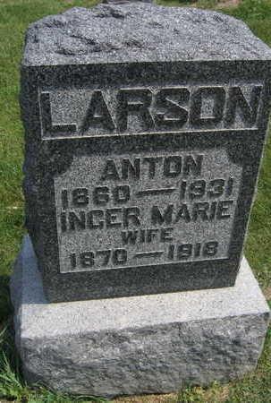 LARSON, INGER MARIE - Linn County, Iowa | INGER MARIE LARSON