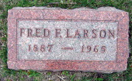 LARSON, FRED F. - Linn County, Iowa | FRED F. LARSON