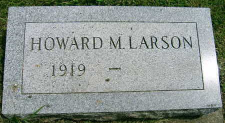 LARSON, HOWARD M. - Linn County, Iowa | HOWARD M. LARSON