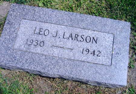 LARSON, LEO J. - Linn County, Iowa | LEO J. LARSON