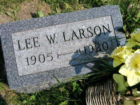 LARSON, LEE W. - Linn County, Iowa | LEE W. LARSON
