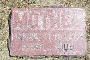 LARY, HARRIET C. - Linn County, Iowa   HARRIET C. LARY