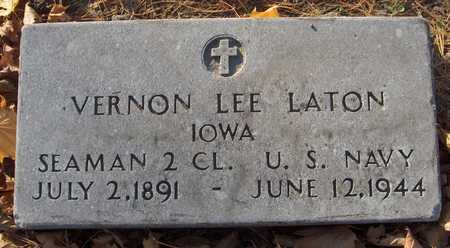 LATON, VERNON LEE - Linn County, Iowa | VERNON LEE LATON
