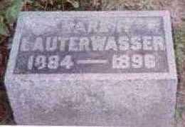 LAUTERWASSER, KARL R. - Linn County, Iowa | KARL R. LAUTERWASSER