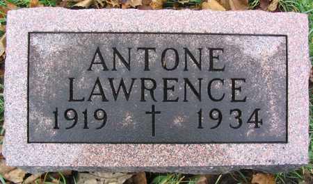 LAWRENCE, ANTONE - Linn County, Iowa   ANTONE LAWRENCE
