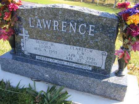 LAWRENCE, CLARET W.