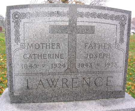 LAWRENCE, CATHERINE - Linn County, Iowa | CATHERINE LAWRENCE