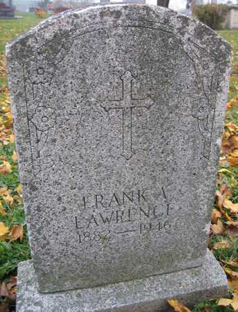 LAWRENCE, FRANK A. - Linn County, Iowa | FRANK A. LAWRENCE