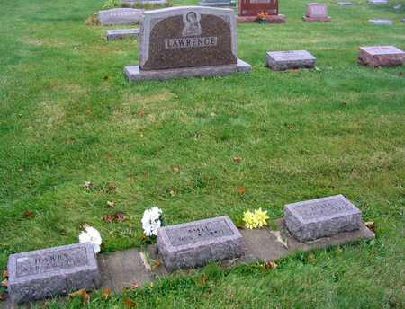 LAWRENCE, FAMILY STONE - Linn County, Iowa   FAMILY STONE LAWRENCE
