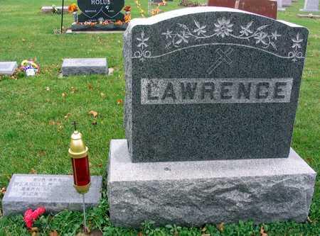 LAWRENCE, FAMILY STONE - Linn County, Iowa | FAMILY STONE LAWRENCE